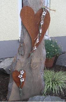 Gartendeko rost for Rostfiguren garten
